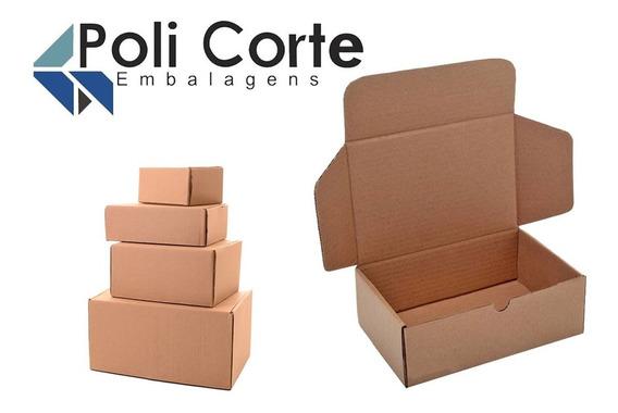 Kit Com 40 Caixas De Papelão P/ Correios/sedex Tam. P/m/g/gg