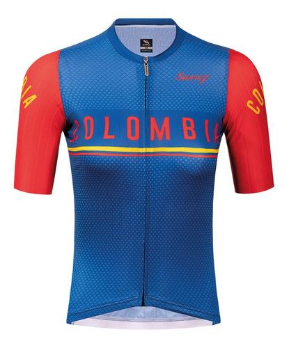 Camiseta Corta Para Dama Perfomance Colombia 2020 Suarez