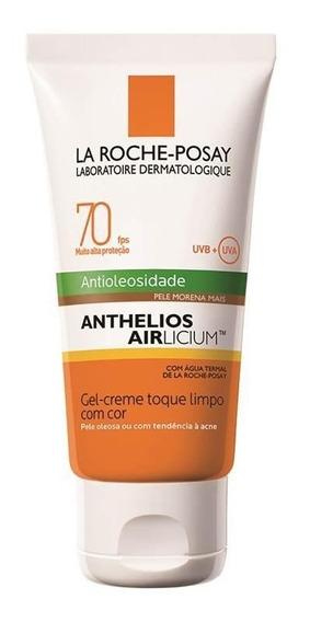 Protetor Solar Anthelios Airlicium Fps70 Pele Morena Mais