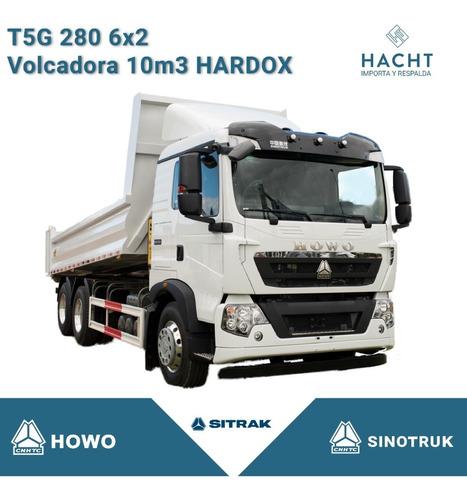 Sinotruk Howo T5g 280 6x2 Volcadora 10m3