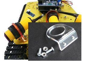 Suporte Em Acrílico Com Parafusos Para Sensor E18-d80nk