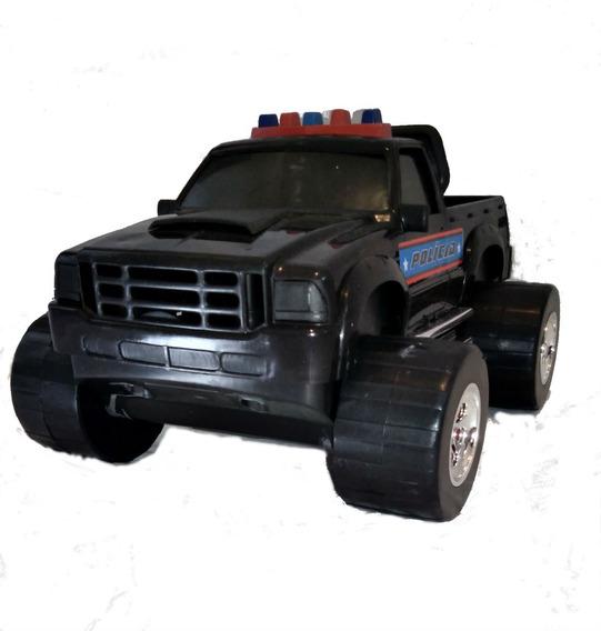 Carrinho Infantil Caminhonete Policial 4x4