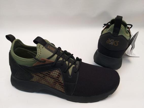 Tênis Asics Tiger Gel Lyte V Rb Preto Verde Original Sneaker
