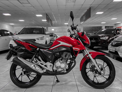 Honda Cg 160 Titan Ano 2018 Financiamos Em 36x Black Friday