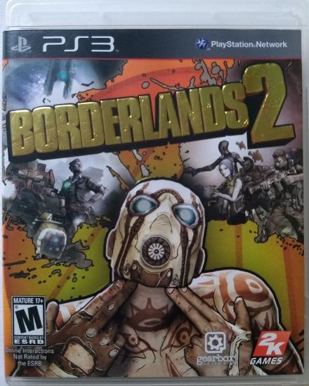 Ps3 - Borderlands 2 - Usado - Mídia Física
