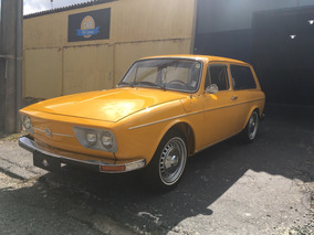 Volkswagen Variant Placa Preta 1973