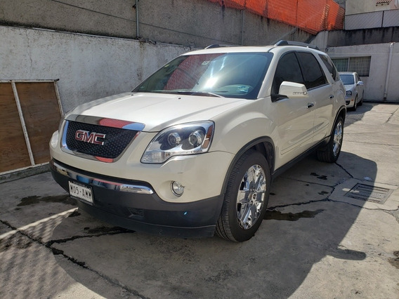 Gmc Acadia 3.6 D 8 Pas Qc Piel 4x4 At 2011