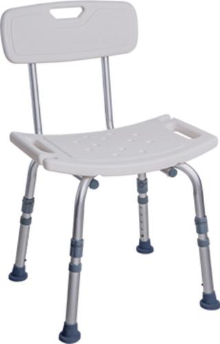 Cadeira Para Banho Com Encosto Banqueta Dellamed D2