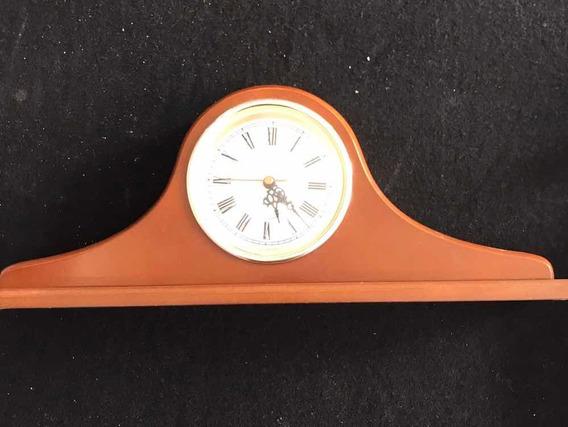 Reloj Antiguo Quartz Uso De Mesa O Escritorio Num Romanos