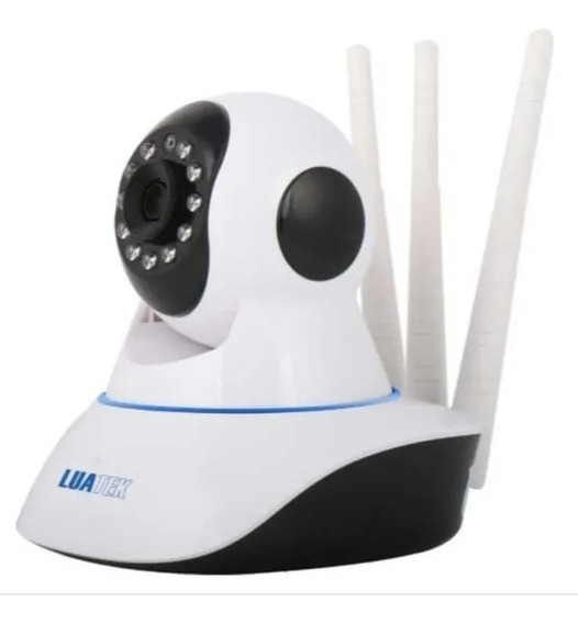 Câmera 3 Antenas Ip Ptz Hd Wireless Luatek Lkw-1310