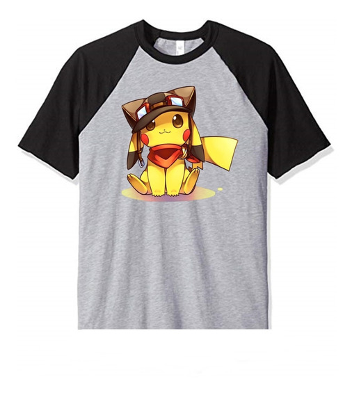 Remera Pokemon Pikachu Cute Niño Infantil