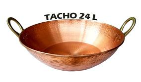 Tacho Panela De Cobre Puro De 24 L