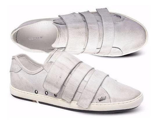 Tênis Osklen Arpex Lona C/ Velcro Branco - Original