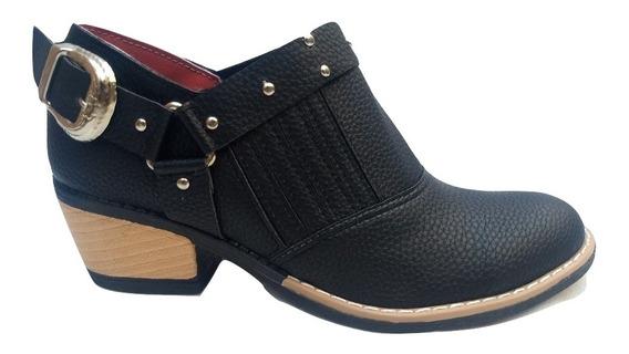 Botas Zapatos Texanas Mujer Moda