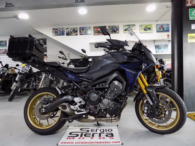 Yamaha Mt09 Tracer Gris 2016