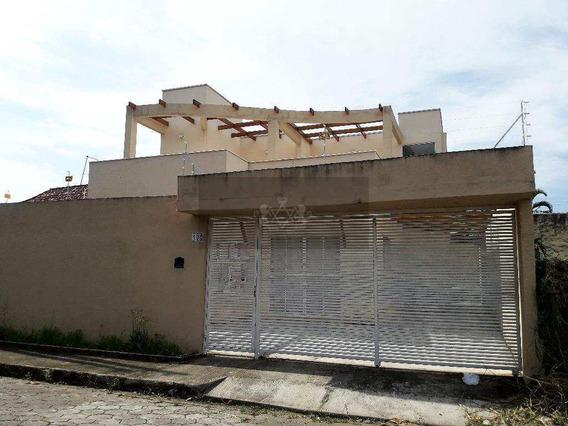 Sobrado Com 4 Dorms, Praia Das Palmeiras, Caraguatatuba - R$ 580 Mil, Cod: 468 - V468