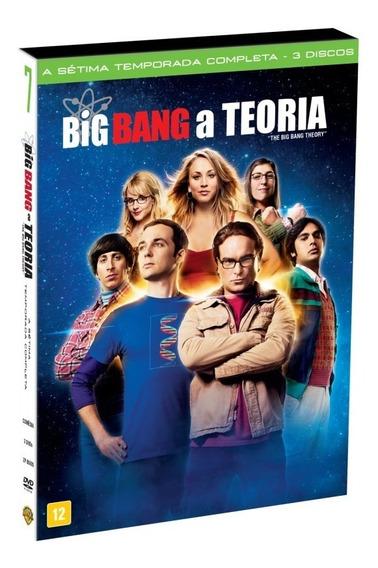 Big Bang A Teoria 7ª Temporada 3 Discos Dvd Lacrado