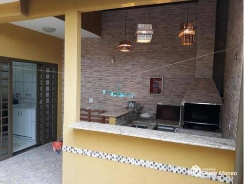 Casa Com 3 Dormitórios À Venda, 165 M² Por R$ 450.000,00 - Loteamento Residencial Santa Clara Ii - Poços De Caldas/mg - Ca0021