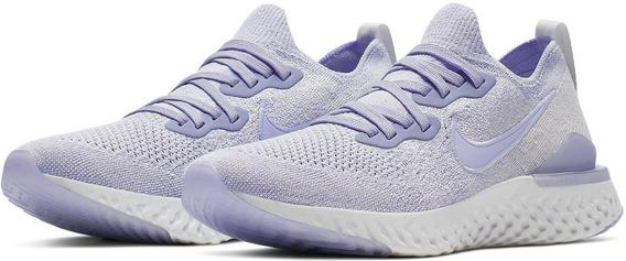 Zapatillas Nike Epic React Flyknit 2 Mujer Nuevas Bq8927-501