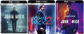 Bluray John Wick John Wick Chapter 2 John Wick Parabellum 4k