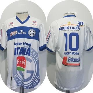 Camisa Do Goianésia Goiás Super Bolla Titular Jogo Oficial