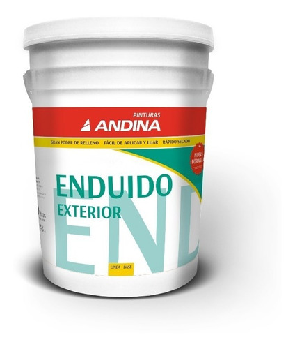 Enduido Paredes Exterior Andina - 20lts Pintumm