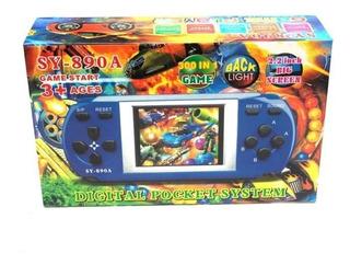 Consola Portatil Juegos Retro Game Box Plus Pilas Sy 890a