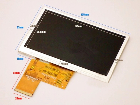 Original Tela Lcd Display Satlink 6932 6936 6939 6960 6965 6