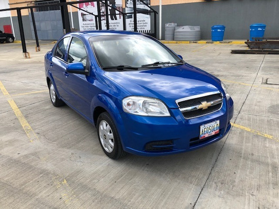 Chevrolet Aveo Lt Automatico 4 Puertas Aut Gas Activo
