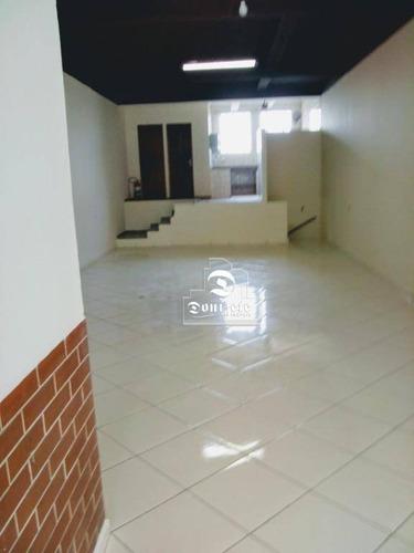 Salão À Venda, 141 M² Por R$ 445.000,01 - Jardim Pilar - Santo André/sp - Sl0107