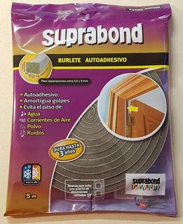 Burlete Extra Ancho Suprabond 10 X 20 Mms. X 5metros