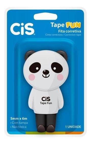 Corretivo Fita 5mmx6m Tape Fun Bichos Cis 45.9600 Sertic