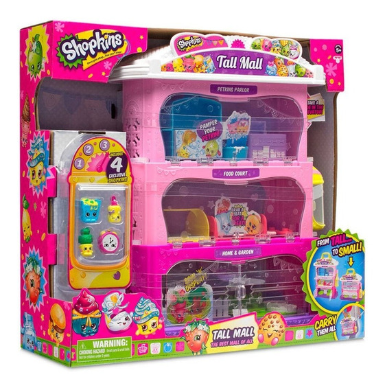 Shopkins Center Tall Mall Com Shopkins Exclusivos Dtc