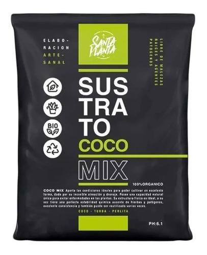 Sustrato Santa Planta Coco Mix 25dm