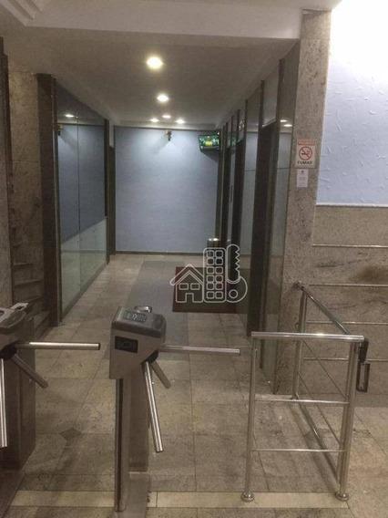Sala Para Alugar, 120 M² Por R$ 6.000,00/mês - Centro - Niterói/rj - Sa0105