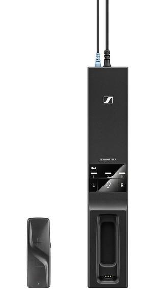 Kit Fone De Ouvido Para Tv Sem Fio Flex 5000 Preto Sennheise