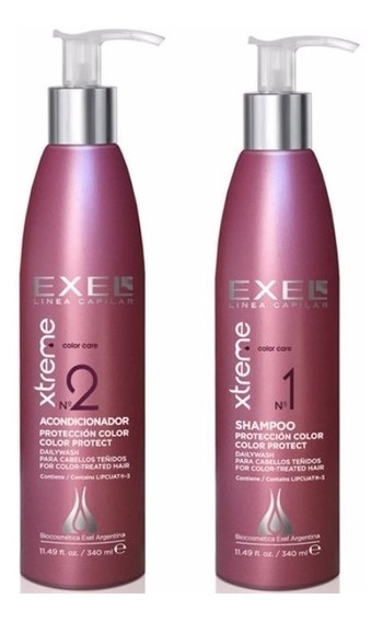 Shampoo Y Acondicionador Kit Xtreme Color Care Exel