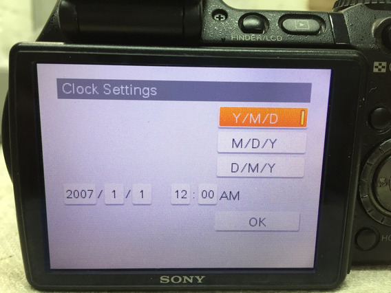 Visor Lcd Completo Sony Dsc-h9