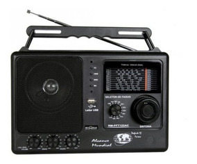 Rádio Portátil Motobrás Rm-pft 122ac - Fm/om, 12 Faixas,