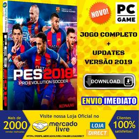 Pes 2018 (pc) Versão Em Português - Envio Imediato