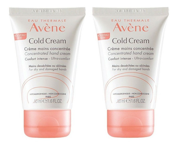 Avene Cold Cream Manos Pack X 2
