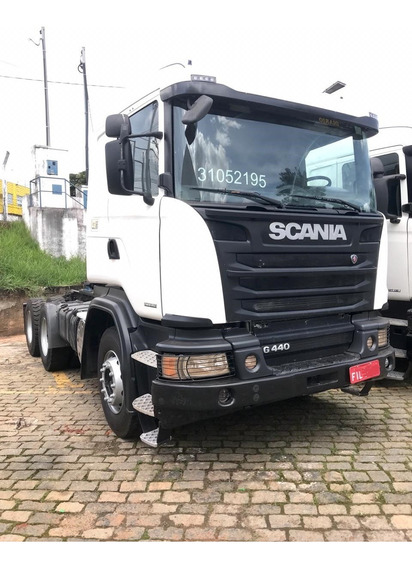 Scania G 440 Opticruise 6x4 Boogie Pesado
