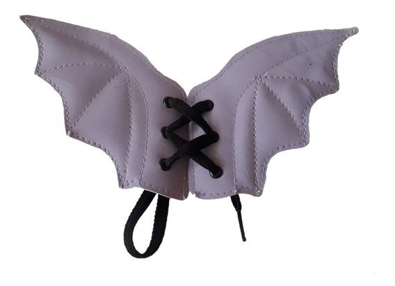 Alas Murcielago Para Calzado Gotico Dark Agujeta Bat Wings