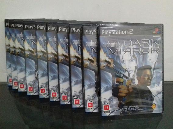 Syphon Filter Dark Mirror Lacrado Jogo De Ps2 Playstation 2