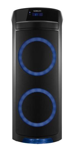Parlante Noblex MNT390 portátil con bluetooth negro 220V