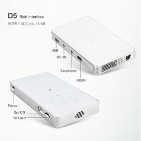 Mini Projetor D5 Hdmi Usb Sd Card