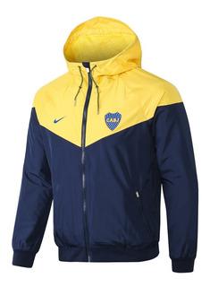 Casaca Corta Viento Nike Boca Junior - Original! A Pedido