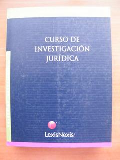Curso De Investigación Jurídica, Gabriel Álvarez Undurraga