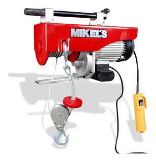 Polipasto Electrico Mikels 1 Ton Potente Motor 1500w Pe-1000