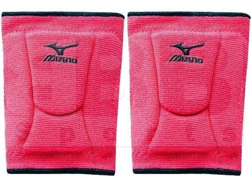 Mizuno Lr6 Rodilleras Voleibol Pink / Black S